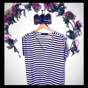 Zara Basic | Striped T-Shirt
